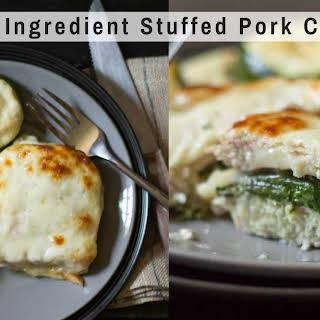 Stuffed Pork Chops – 5 Ingredients, 5 Minute Prep.
