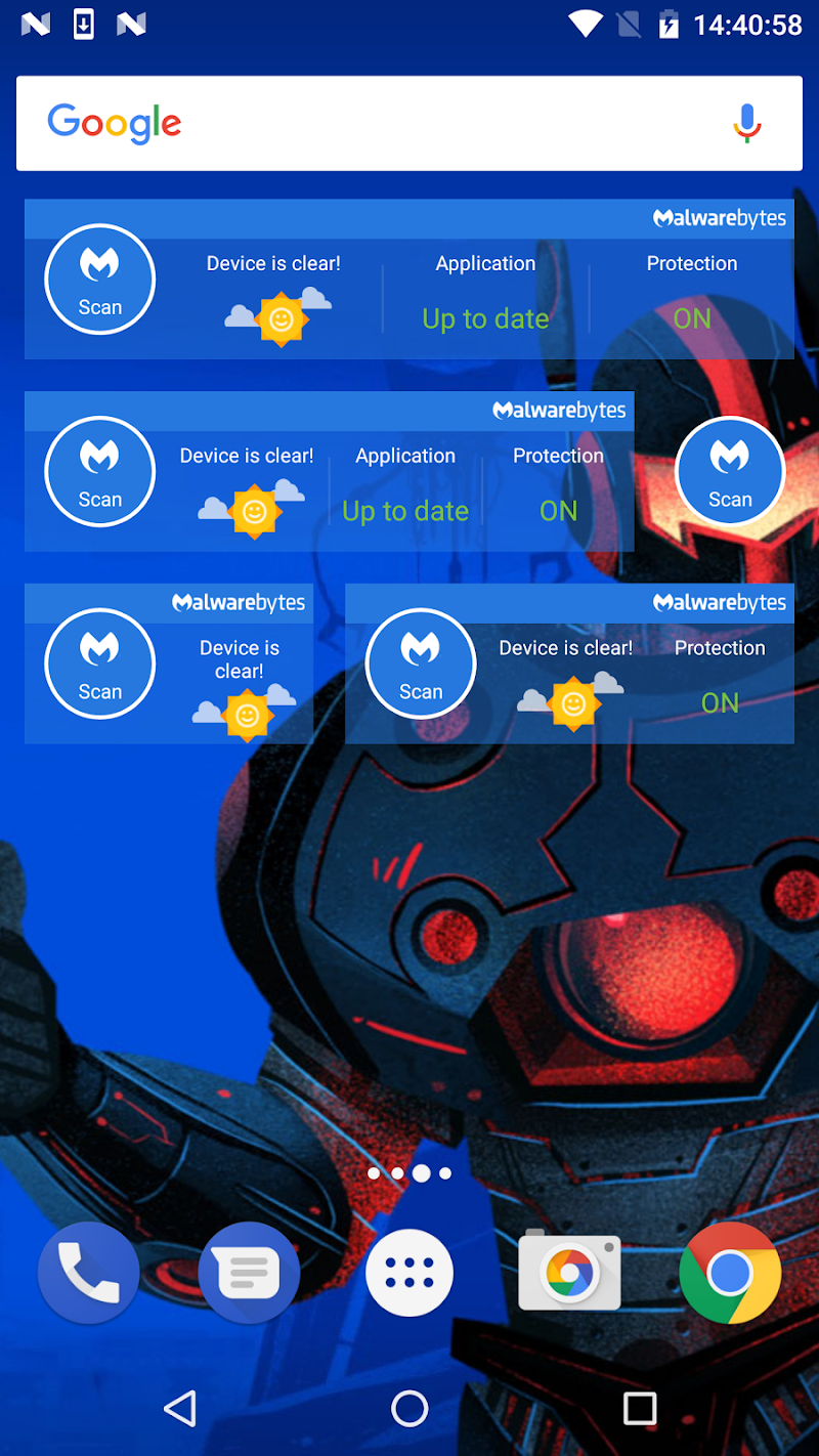 Malwarebytes Security: Virus Cleaner, Anti-Malware Screenshot 6