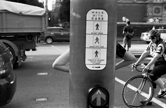 Photo: Flinders St. Melbourne. Canon A-1. Ilford HP5+. (c)Vinnie Piatek