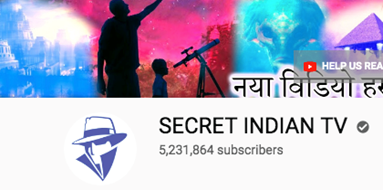 SECRET INDIAN TV