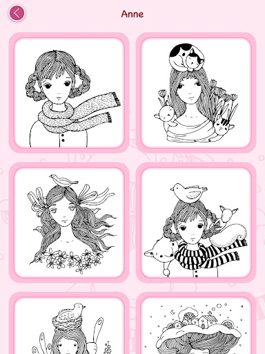 Girls Coloring Book Games Apk Free Download For Android PC Windows Screenshot