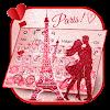 لوحة المفاتيح Paris Romance Glitter APK