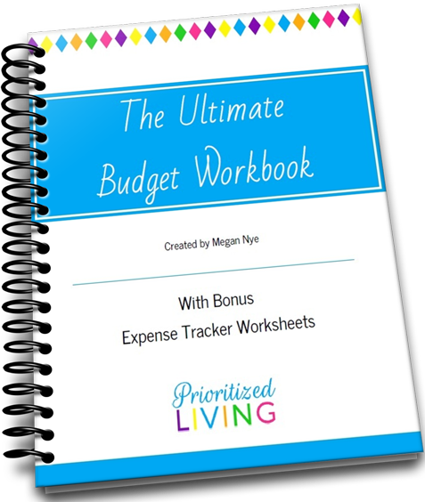 The Ultimate Budget Workbook Cover