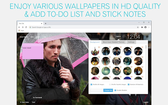 The Umbrella Academy Wallpapers HD Custom New Tab