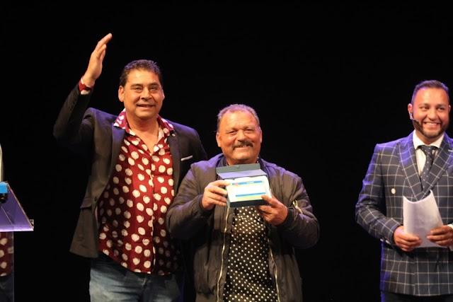 Francisco Rodríguez, 'Tío Chorro' Premio Gitano del Año.