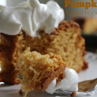 Pumpkin Angel Food Cake.