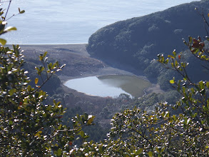 塩竈浜の海跡湖