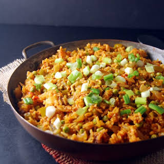 Roasted Cauliflower Couscous with Lentils and Mint.