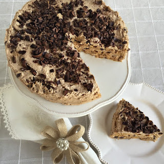 Mocha Chocolate Chip Icebox Cake