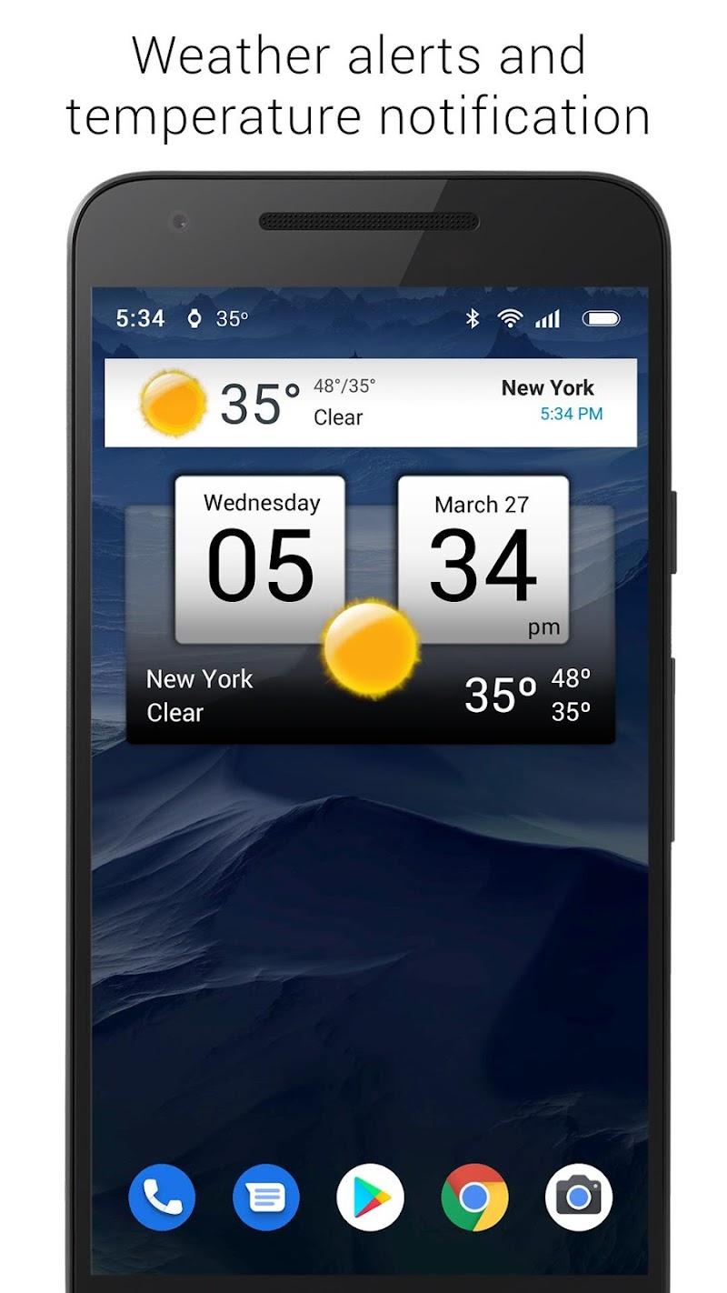 Digital clock & world weather Screenshot 9