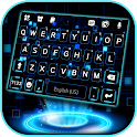 Neon 3D Tech Live Keyboard Background icon
