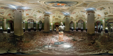 Photo: A somewhat failed photosphere in the Kunsthistorisches Museum
