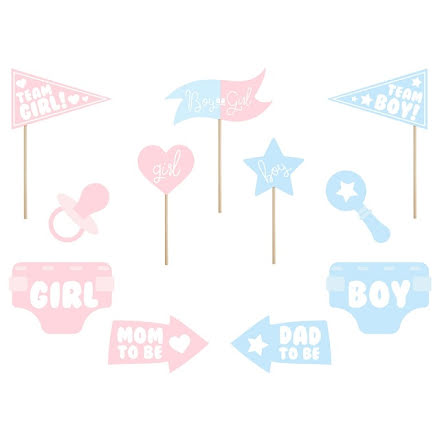 Photobooth-kit - Gender reveal party