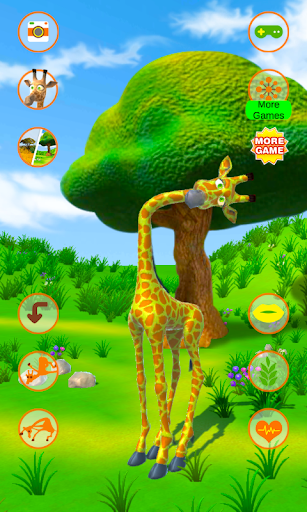 Talking Giraffe screenshots 1