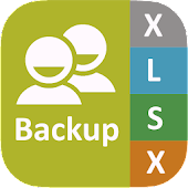 Backup Contact To Excel (Import & Export To XLSX)