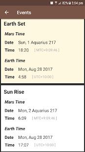 Mars Sky - náhled