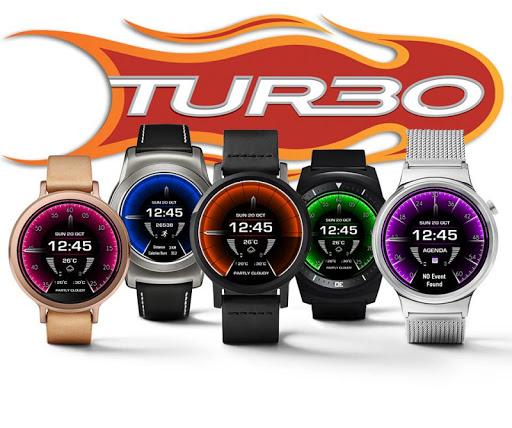 Turbo Interactive WatchFace HD