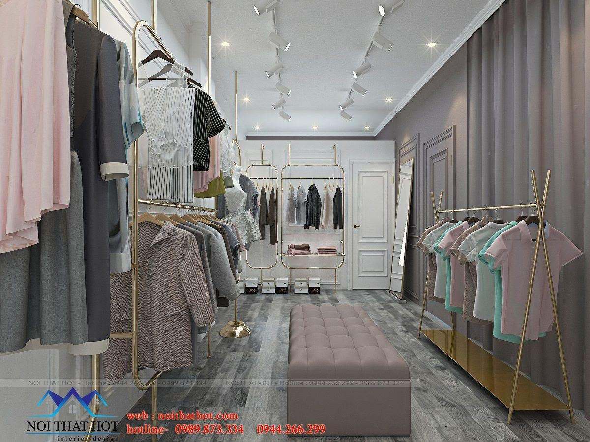 thiết kế shop thời trang online 2