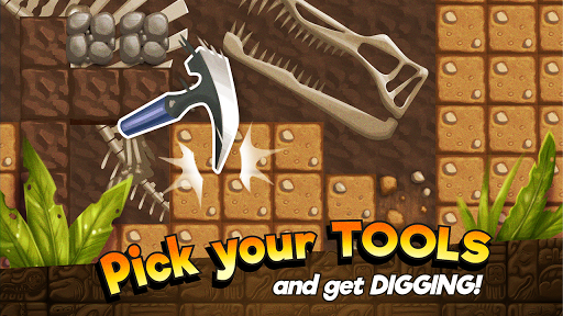 Dino Quest - Dinosaur Discovery and Dig Game androidiapk screenshots 1