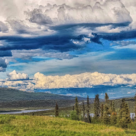 All About Clouds by Patricia Phillips - Landscapes Travel ( alaska travel eureka clouds )