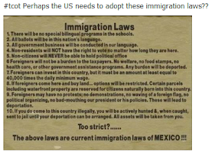 Photo: Mexico Immigration Laws