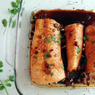 Ginger Lemongrass Salmon.