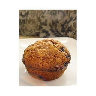 Whole Wheat Blueberry Cereal Muffins.