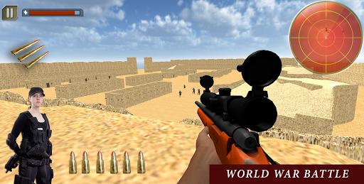 砂漠のターゲット:狙撃デューティ