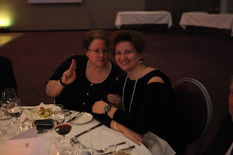 Photo: Olga Bereslavskaya and Irina Kuzina enjoying the show