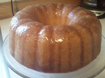 Bust Your Buttons Butter Cake Recipe
