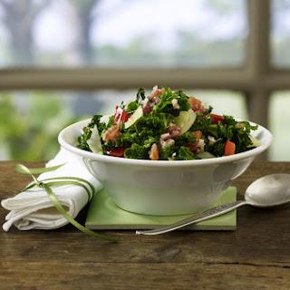 Sautéed Kale and Cabbage.