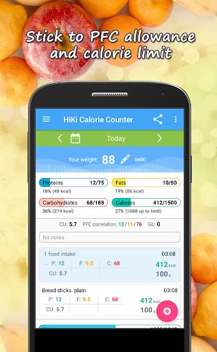 Calorie Counter HiKi 2.77 screenshots 1