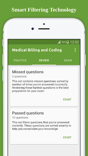 Medical Billing Coding Flashcard 2017 screenshot 3