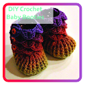 DIY Crochet Baby Booties icon