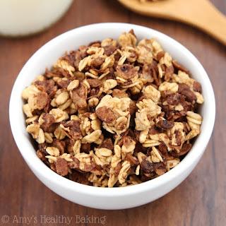 Chocolate Peanut Butter Granola