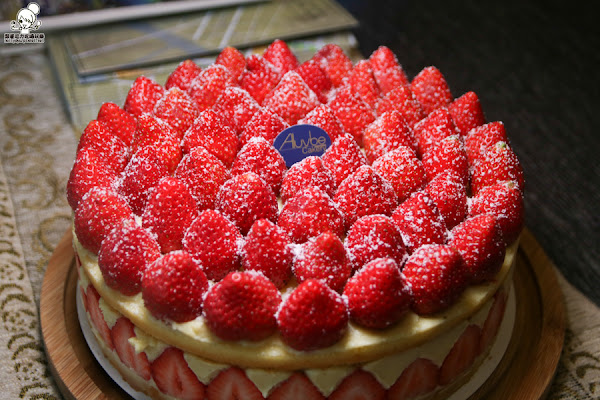 爆炸餡料的法式草莓蛋糕,Aluvbe Cakery艾樂比限量推出 x 好吃夢幻可麗露