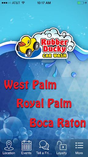Rubber Ducky Car Wash