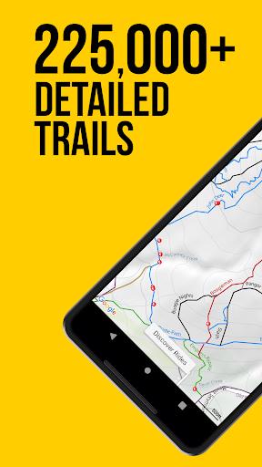 trailforks screenshot 1