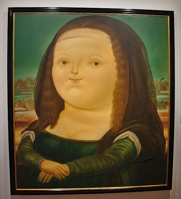Botero, Mona Lisa