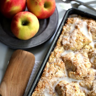Caramel Apple Cheesecake Coffee Cake Recipe