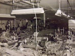 Photo: The factory at Nutmeg Hardware was hard-hit.