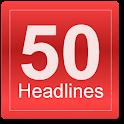 50Headlines icon