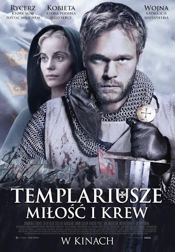 Polski plakat filmu 'Templariusze. Miłość i Krew'