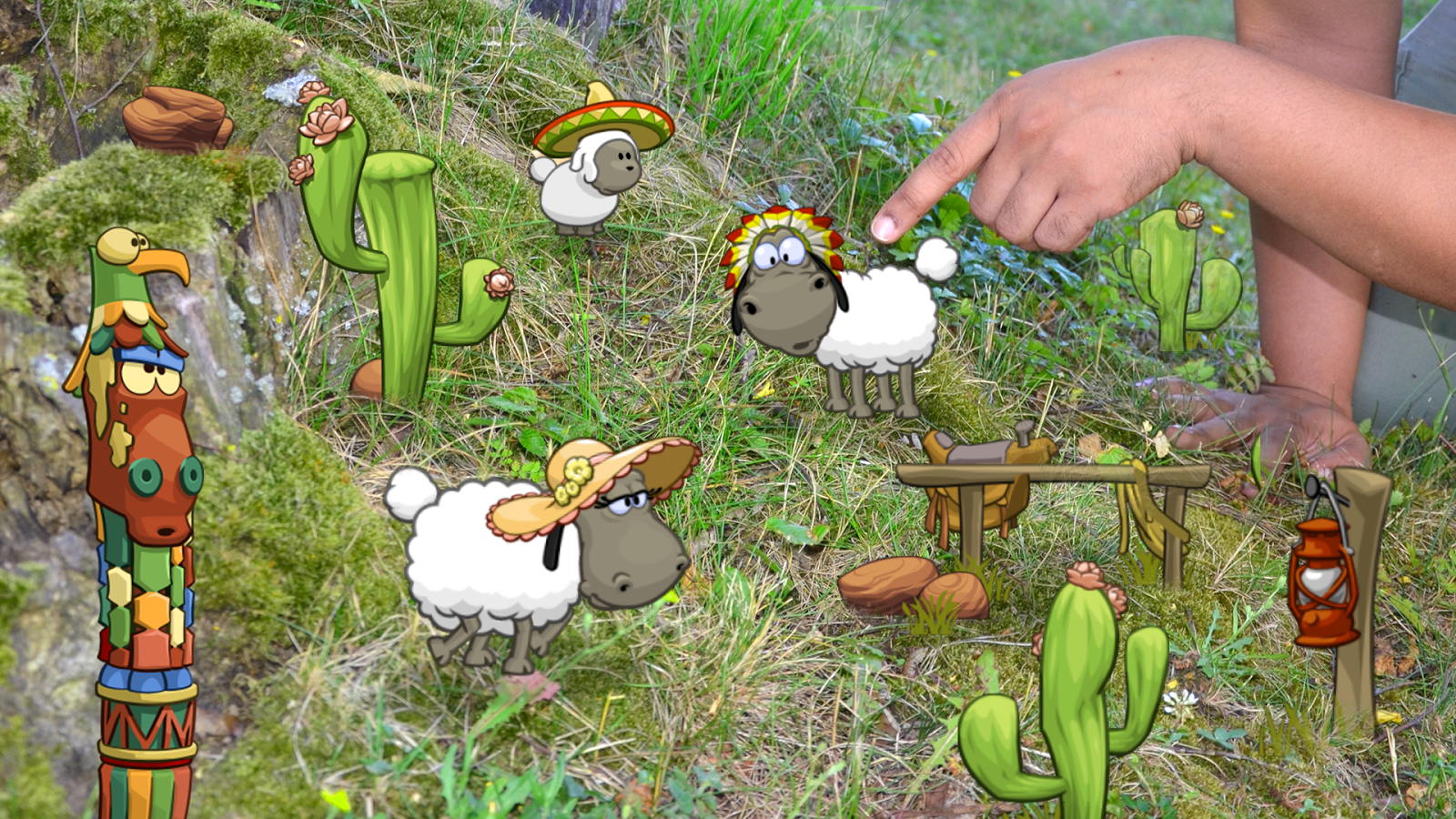 Clouds & Sheep - AR Effects- screenshot
