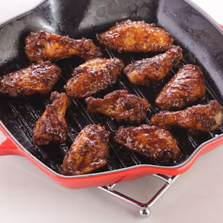 Maple BBQ Chicken Wings.