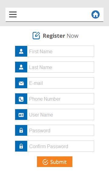 mobile resume screenshot