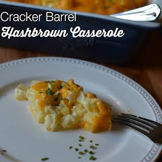 Cracker Barrel Hashbrown Casserole.