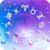Water Drops Horoscope Theme