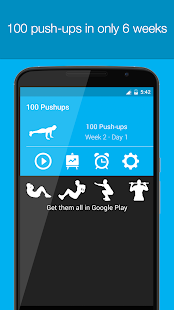 100 Pushups- screenshot thumbnail