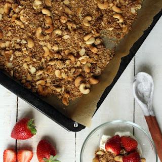 Cashew Butter Granola Recipes